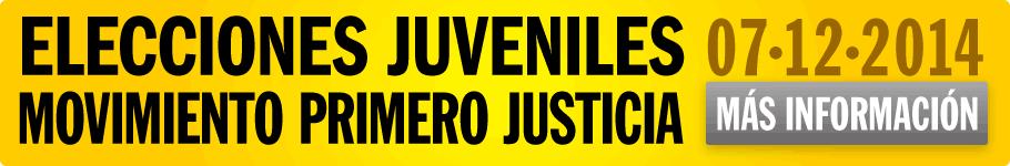 Elecciones Juveniles en el Movimiento Primero Justicia