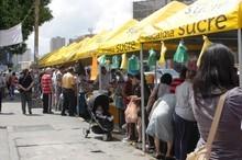 Alcaldía de Sucre impulsa mercados a cielo abierto en todo e...