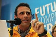 Capriles: No iré a Miraflores a lavarle la cara a un Gobiern...