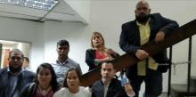 Diputados de Primero Justicia exigen al CNE entregar la plan...