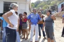 Vecinos de Guarenas plantearon a Adriana D´Elia problemática...