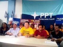Wilson Castro completa su comando de campaña