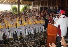 """Capriles: """"Los ojos de Chávez en la tarjeta electoral d..."""