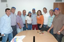 Capriles ratificó apoyo a Miguel Chacón y a equipo de concej...
