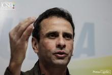 Capriles: El gobierno juega a que se rompa la unidad