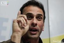 Capriles: Tenemos que remar juntos porque más allá de hoy ha...