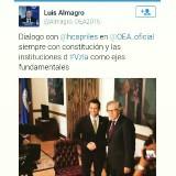 Capriles se reunió con Almagro en Washington para tratar tem...