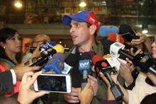 Capriles: Primarias de oposición serán el 3 de septiembre