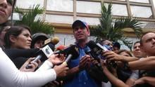 Capriles exigió elecciones generales en vez de regionales