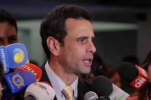 """Capriles: """"Con hambre, no se puede pedir al ser humano racio..."""