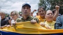 Capriles ante anuncio del CNE: El pueblo no quiere fraude co...
