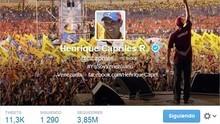 Capriles condena violencia en marcha estudiantil
