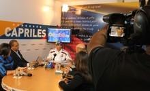 """Capriles: """"Esto no cambia viendo los toros desde la bar..."""