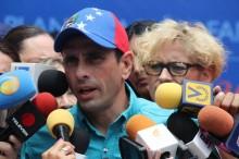 Capriles: El gobierno está actuando como una fiera arrincona...