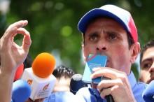 Henrique Capriles: Le exigimos a las rectoras del CNE no seg...
