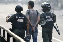40 detenidos en protestas los primeros 13 días del año