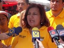 """Dinorah Figuera: """"Con el arsenal encontrado en cárcel d..."""