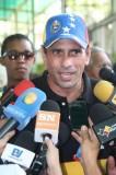 Capriles pide reunirse con el secretario general de la Unasu...