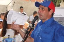 Capriles: Gobierno es luz para la calle y oscuridad en su ca...
