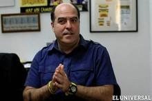 """Julio Borges: """"Toda persona que rompa la Unidad se auto..."""