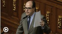 Julio Borges emplaza a Maduro a destituir al ministro de Ali...