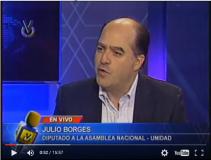 Julio Borges: El CNE aseguró que por votos nulos no se puede...