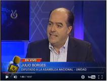 Julio Borges: Justicia venezolana sigue órdenes de Miraflore...