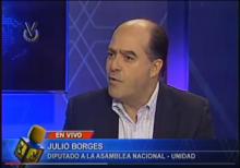 """Julio Borges: """"Los dólares se los robaron y nosotros lo que ..."""