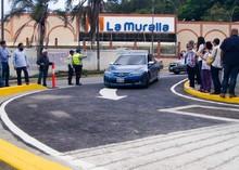 Elías Sayegh abre canal de retorno en Redoma La Muralla de E...