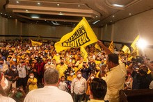 Rafael Ramírez recibe respaldo de la fuerza amarilla de Prim...