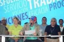 "Capriles: ""Nosotros no queremos un golpe de Estado&quot..."