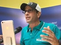 Capriles llamó a realizar operación remate contra Maduro