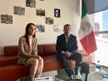 Tomás Guanipa se reunió con la presidenta de la Unión Interp...