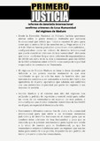 Comunicado de Primero Justicia: Informe de Amnistía Internac...