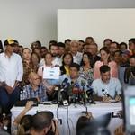 Ocariz: Nos declaramos en 24 horas de lucha para limpiar ese...