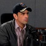 Capriles: Los venezolanos no vamos aceptar más violaciones a...