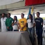 Estudiantes zulianos reafirman compromiso con la libertad de...