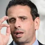"""Henrique Capriles: """"Maduro le teme a que el pueblo se expres..."""