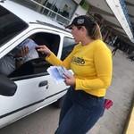 Amelia Belisario desplegó campaña sobre el informe de Bachel...