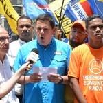 Juan Carlos Caldera anunció que oposición marchará este miér...