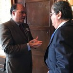 Canciller de Colombia Carlos Holmes Trujillo recibió a Borge...