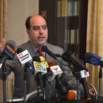 Julio Borges negó reuniones con el gobierno o los mediadores...