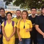Jóvenes del Zulia exigen la presencia de Bachelet en el esta...