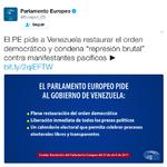 Parlamento Europeo pidió al gobierno de Venezuela restaurar ...