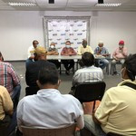 Rafael Ramírez, candidato a la Alcaldía de Maracaibo, se reú...