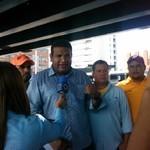 Richard Arteaga fue víctima de un atentado en avenida de Bar...